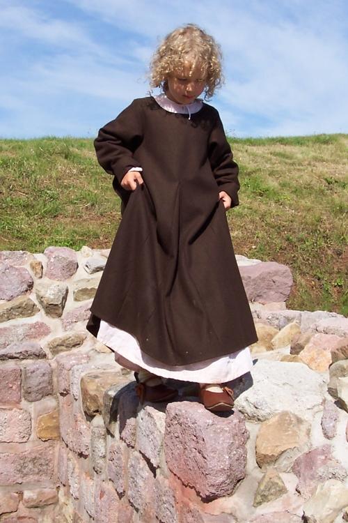 altmodisches kleid kinder